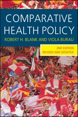 Comparative Health Policy  2nd 2007 (Revised) 9780230001404 Front Cover