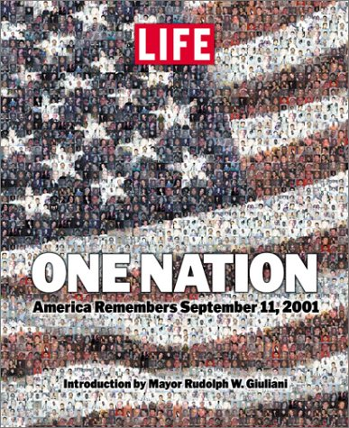 One Nation America Remembers September 11, 2001  2001 9780316525404 Front Cover
