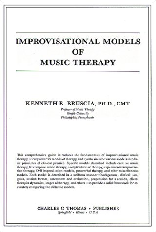 Improvisational Models of Music Therapy 1st edition cover