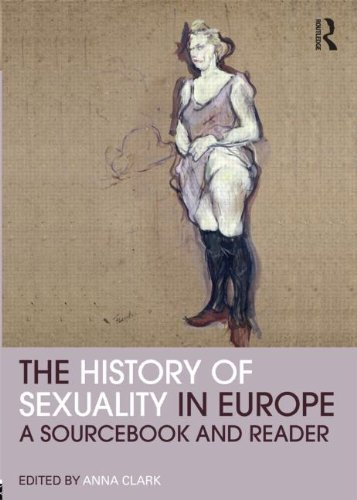 History of Sexuality in Europe A Sourcebook and Reader  2011 edition cover