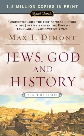Jews, God and History  2nd 2004 (Anniversary) edition cover