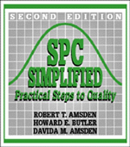 SPC Simplified Practical Steps to Quality 2nd 1998 (Revised) edition cover