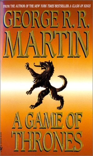 Game of Thrones   1996 edition cover