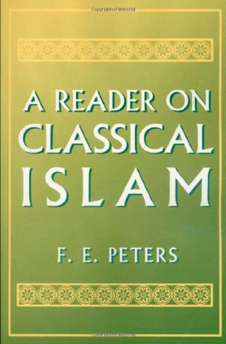 Reader on Classical Islam   1994 edition cover