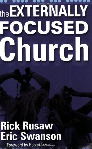 Externally Focused Church   2004 edition cover