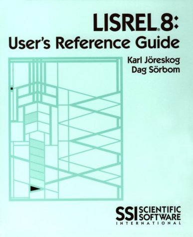Lisrel 8: User's Reference Guide 1st 1997 edition cover