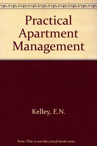 Practical Apartment Management  3rd 1990 9780944298404 Front Cover