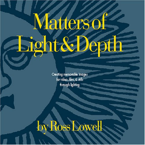 Matters of Light and Depth 1st edition cover