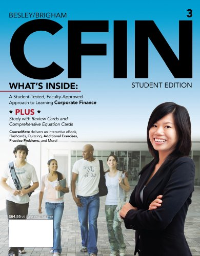 Cfin3 (With Coursemate Printed Access Card)  3rd 2013 edition cover