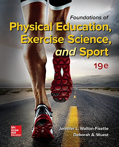 Foundations of Physical Education, Exercise Science, and Sport:   2017 9781259922404 Front Cover