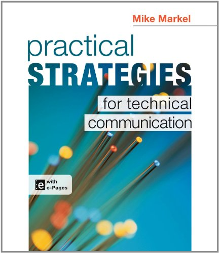 Practical Strategies for Technical Communication   2013 9781457609404 Front Cover