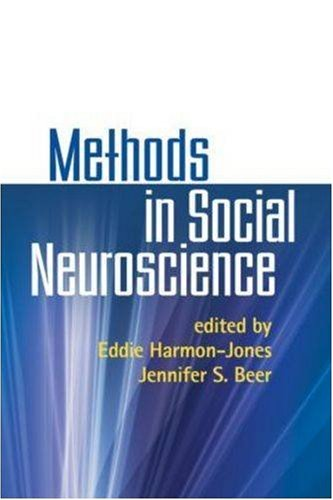 Methods in Social Neuroscience   2009 edition cover