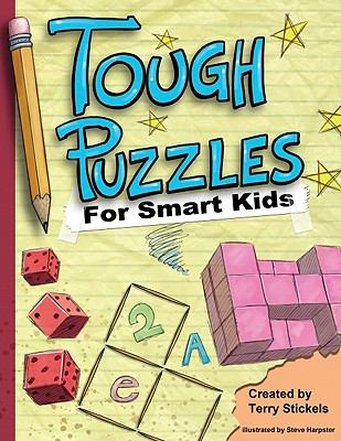 Tough Puzzles for Smart Kids  N/A 9781936140404 Front Cover