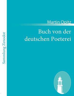 Buch Von der Deutschen Poeterei   2010 9783843059404 Front Cover