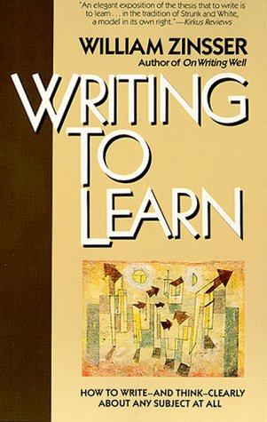Writing to Learn   1989 edition cover