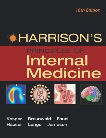 Harrison's Principles of Internal Medicine  16th 2005 9780071391405 Front Cover