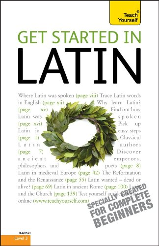 Get Started in Latin  4th 2010 9780071739405 Front Cover