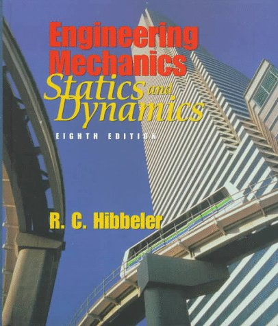 Engineering Mechanics Combined Statics and Dynamics 8th 1998 edition cover