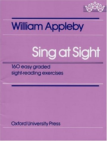 Sing at Sight 160 Easy Graded Sight-Reading Exercises  1960 edition cover