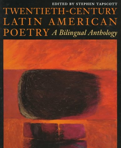 Twentieth-Century Latin American Poetry A Bilingual Anthology  1996 edition cover