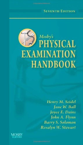 Mosby's Physical Examination Handbook  7th 2011 9780323065405 Front Cover