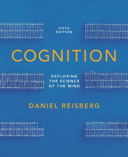 Cognition Exploring the Science of the Mind 5th edition cover