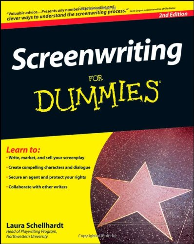 Screenwriting for Dummies�  2nd 2008 edition cover