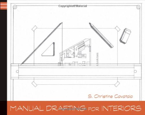 Manual Drafting for Interiors   2012 9780470879405 Front Cover