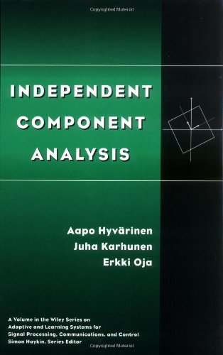 Independent Component Analysis   2001 edition cover