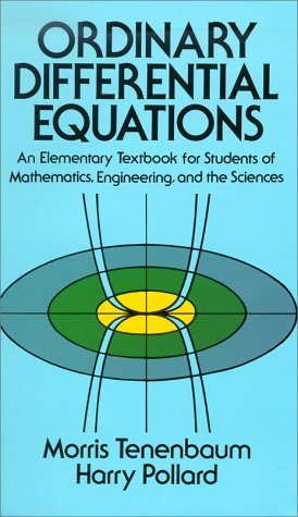 Ordinary Differential Equations   1985 (Reprint) edition cover