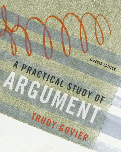 Practical Study of Argument  7th 2010 edition cover