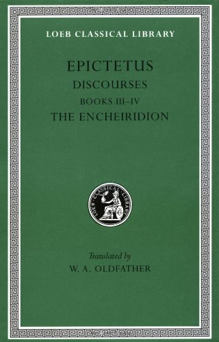 Discourses - Fragments, the Encheiridion   1928 edition cover