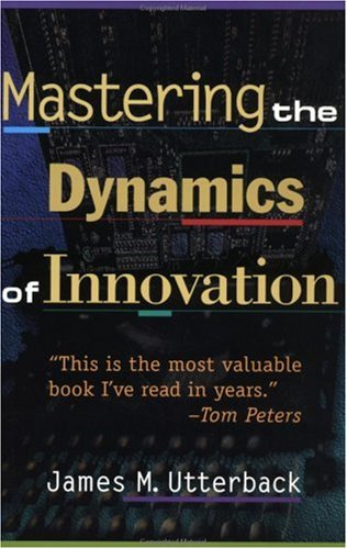 Mastering the Dynamics of Innovation  2nd 1996 (Revised) edition cover