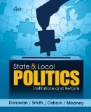 State and Local Politics: Institutions and Reform  2014 edition cover