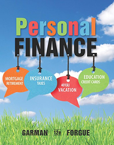 Personal Finance + Lms Integrated for Mindtap Finance, 1-term Access:   2015 9781305778405 Front Cover