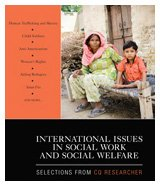 International Issues in Social Work and Social Welfare Selections from CQ Researcher  2010 edition cover
