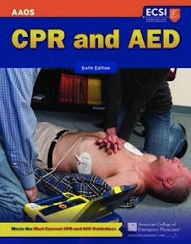 CPR and AED  6th 2012 edition cover