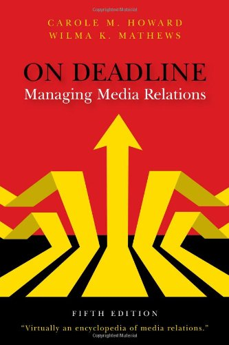 On Deadline Managing Media Relations 5th edition cover