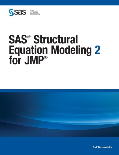 SAS Structural Equation Modeling 2 for JMP   2013 edition cover