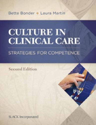 Culture in Clinical Care:   2013 edition cover