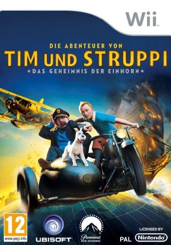 Die Abenteuer von Tim und Struppi: Das Geheimnis Der Einhorn [AT PEGI] Nintendo Wii artwork