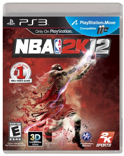 NBA 2K12 PlayStation 3 artwork