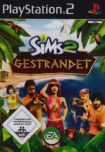Die Sims 2 - Gestrandet [Software Pyramide] PlayStation2 artwork