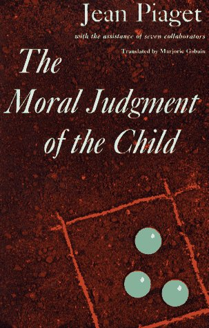 Moral Judgment of the Child  N/A 9780029252406 Front Cover