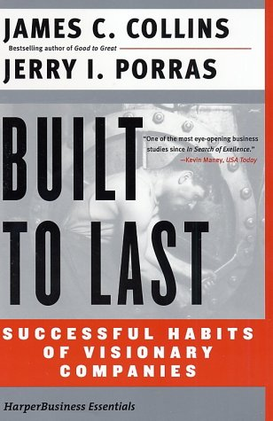Built to Last Successful Habits of Visionary Companies  2002 9780060516406 Front Cover