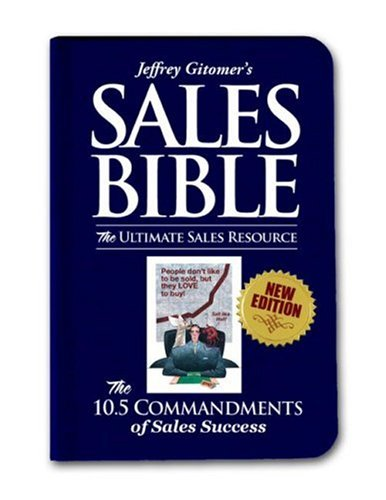 Sales Bible The Ultimate Sales Resource  2008 (Revised) edition cover