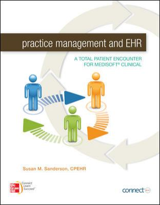 Practice Management and EHR with Connect Access Card   2012 edition cover