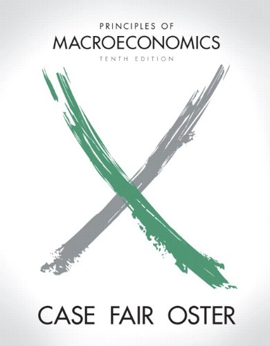 Principles of Macroeconomics  10th 2012 edition cover