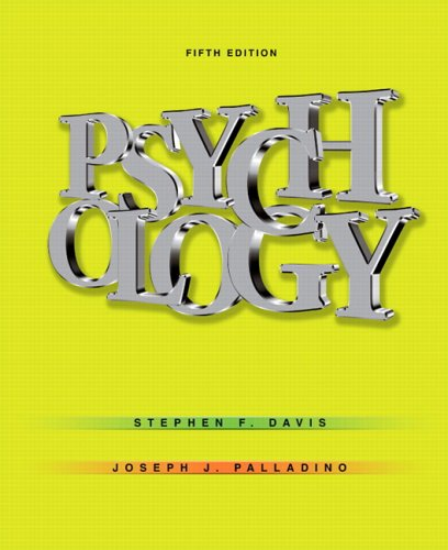 Psychology  5th 2007 (Revised) edition cover