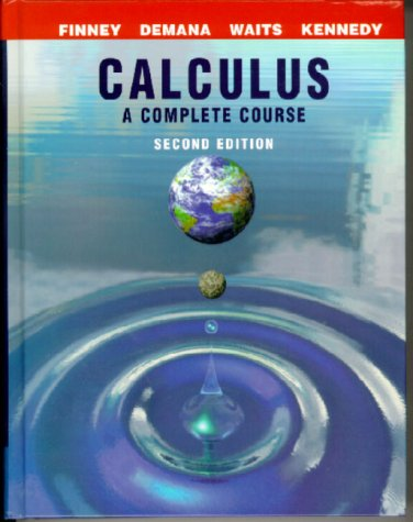 Calculus A Complete Course 2nd 2000 edition cover